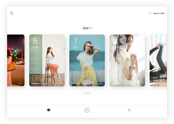 iPad 首页