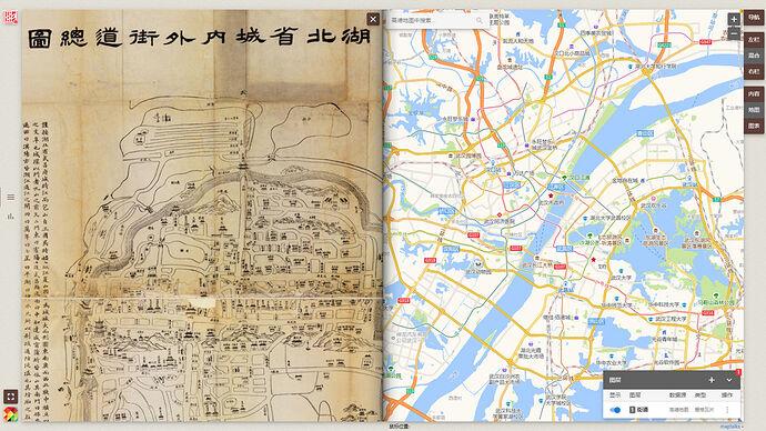 中国古旧地图