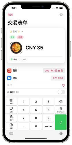 iPhone 12 Pro Max - 表单