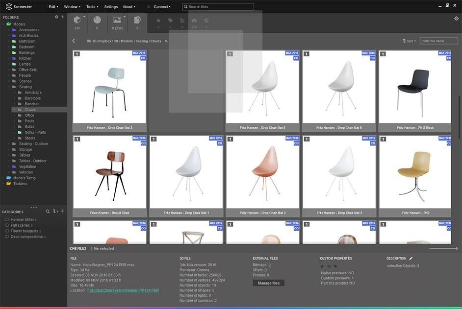 求一款专门管理设计资源的工具(针对各类图像) 2