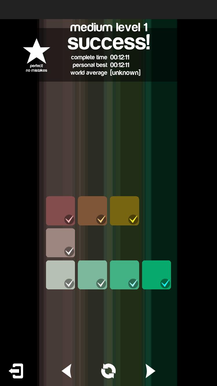 Blendoku 2 (彩独) - 色彩大师?来挑战色彩辨识力吧[iOS/Android] 3